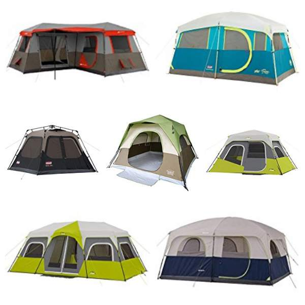 Several great instant cabin tents.