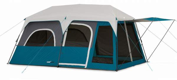 Campvalley 10 Person Instant Cabin Tent.