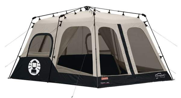Coleman 8 Person Instant Tent.