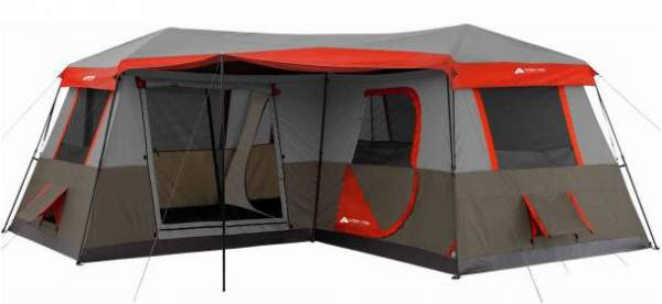 Ozark Trail 12 Person 3 Room Instant Tent.