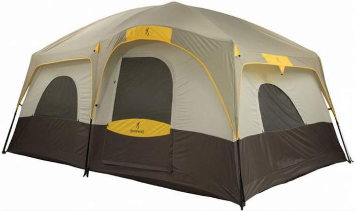 Here is the Big Horn tent shown with the rain fly.