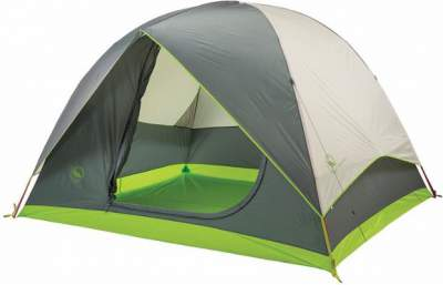 The Dome Style Big Agnes Rabbit Ears 6 Tent.