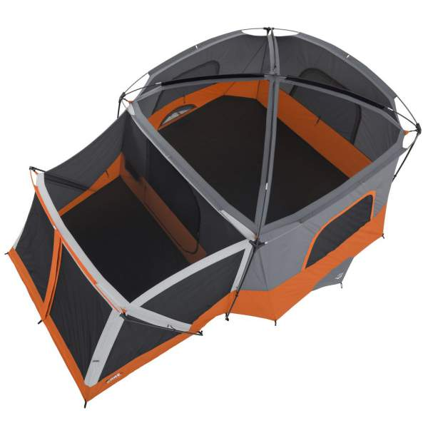 New 2017 Core 11 Person Cabin Tent With Screen Room 2