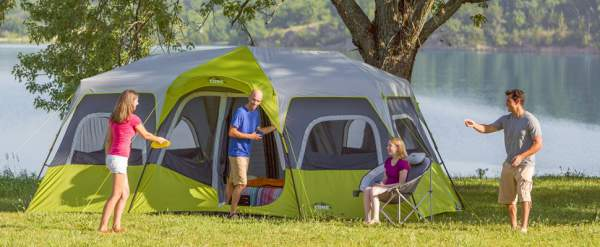 Large tent for big families, for groups, and for several couples.