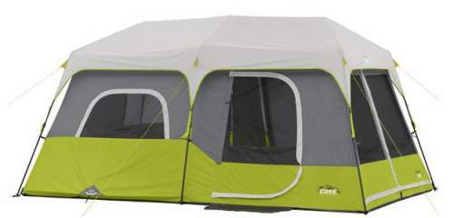 The Core 9 Person Tent Shown With The Fly.