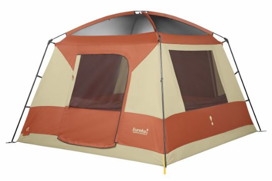 Eureka Copper Canyon 6 Tent - shown here without the fly.