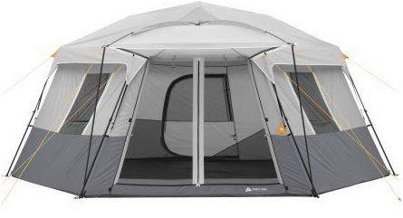 Ozark Trail 11-Person Instant Hexagon Cabin Tent.