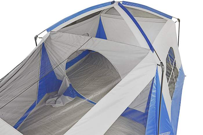 The tent has two separate rooms.  sc 1 st  Family C&ing Tents & Wenzel 8 Person Klondike Tent Review - 2 Separate Rooms | Family ...