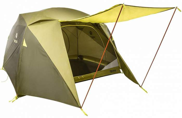 The Marmot Limestone 6 has 3000 mm rating for the floor and 1500 mm for the  sc 1 st  Family C&ing Tents & What Is The Best Tent Fabric For Family Camping Tents | Family ...