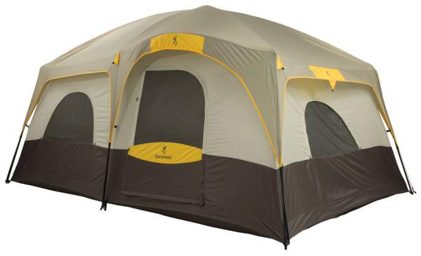 Browning Camping Big Horn Tent For 8 People - a cabin style tent.