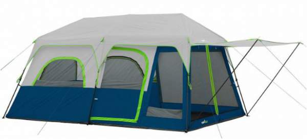 Campvalley 10-Person Instant Cabin Tent.