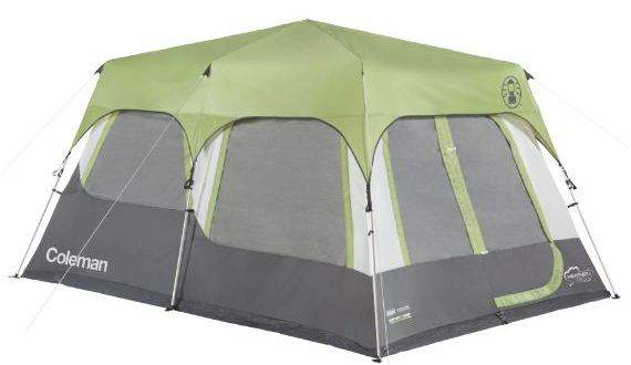 Coleman Instant Cabin 10 Tent with Fly.  sc 1 st  Family C&ing Tents & 10 Best 10-Person Camping Tents For Families And Groups | Family ...