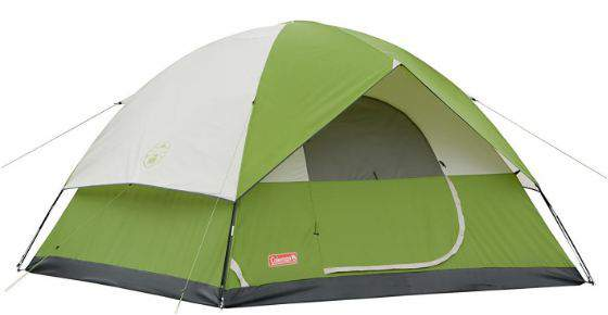 Coleman 6 Person Sundome Tent.