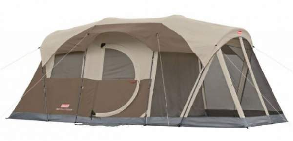 Coleman WeatherMaster 6 Person Screened Tent.