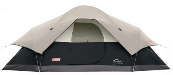 Coleman Red Canyon 8 Tent - extended dome type.