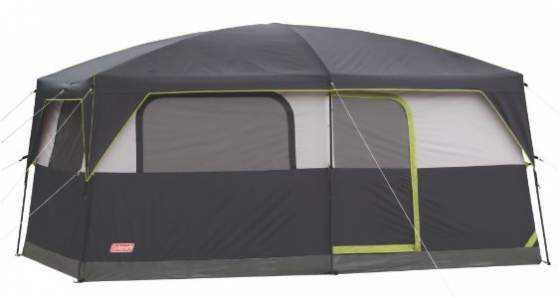 Coleman Prairie Breeze 9 Person Cabin Tent.