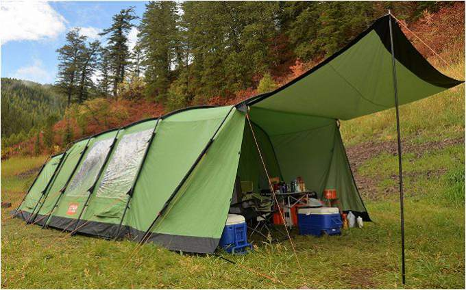 Crua Loj 6 Person Thermo Insulated Tent.