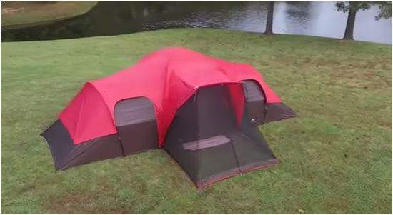 Ozark Trail 10 person tent with screen porch.