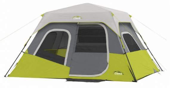 Core 6 Person Instant Cabin Tent.