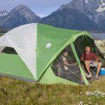Coleman Evanston 6 Screened Tent - dome type.