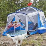 Wenzel Klondike 8 person tent - with screen room.