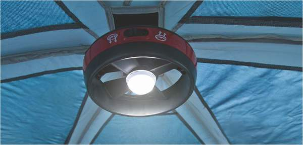 The fan and LED are included.