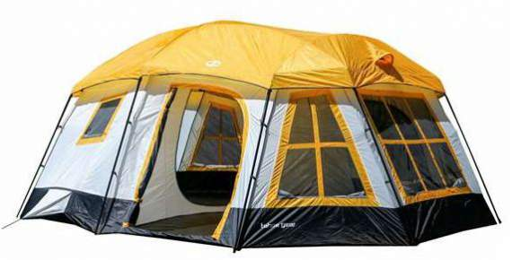 Tahoe Gear Ozark 3-Season 16 Person Large Family Cabin Tent.  sc 1 st  Family C&ing Tents & 19 Best 3 Room Family Camping Tents For 2018 | Family Camp Tents