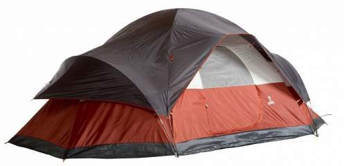 Coleman 8 Person Red Canyon Tent.