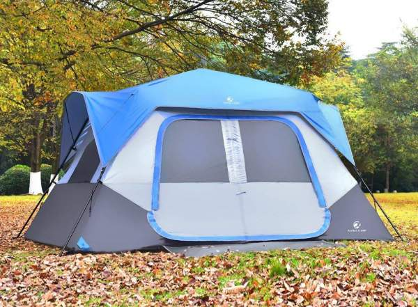 ALPHA CAMP 8 Person Instant Cabin Tent.