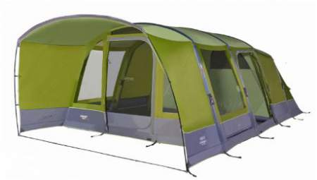 Vango Capri 600XL tent with air beam technology.