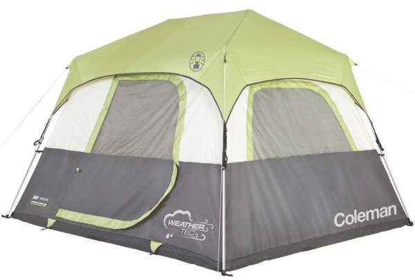 Coleman Instant Cabin 6 Tent With Fly.