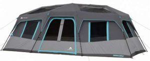 Ozark Trail 20 x 10 Dark Rest Instant Cabin Tent.