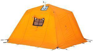 Arctic Oven tent with vestibule.