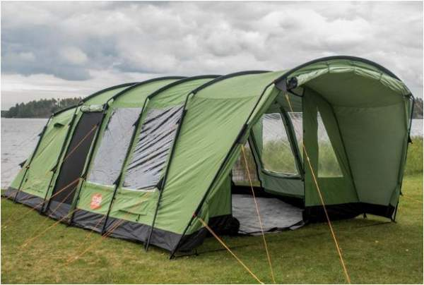 Crua Loj 6 Person Insulated Waterproof Family Tent.