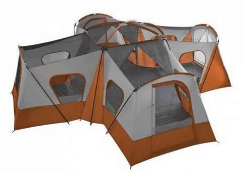 Ozark Trail Base Camp 14-Person Cabin Tent 20 x 20.