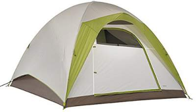 Kelty Yellowstone 6 - partial fly.  sc 1 st  Family C&ing Tents & 2018 Best Family Camping Tents With Full Rain Fly - 13 Models ...