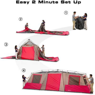 Setup is under 2 minutes.  sc 1 st  Family C&ing Tents & setup-steps