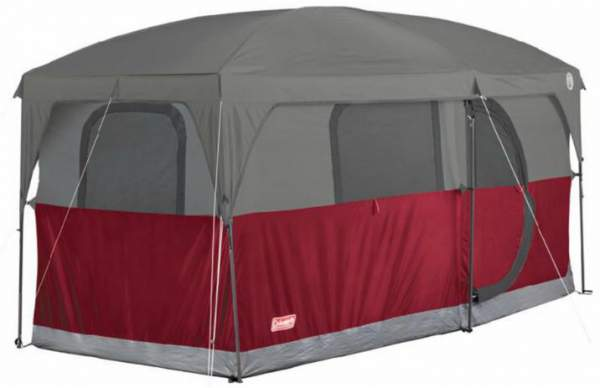 Coleman Hampton 6 Person Family Camping Cabin Tent.