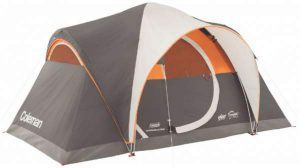 Coleman Yarborough Pass 6 Tent.