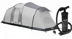 MOOSE OUTDOORS 6 Person Inflatable Family Tent.