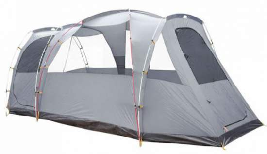 Arizona GT tent shown without the fly, with all poles visible.