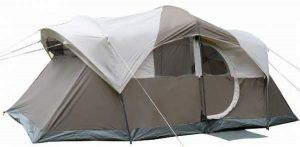 Tangkula 10-Person Waterproof Family Double Layer Camping Tent.