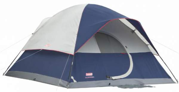 Coleman Elite Sundome Tent with LED Light System.