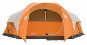 Coleman Bayside 8-person tent.