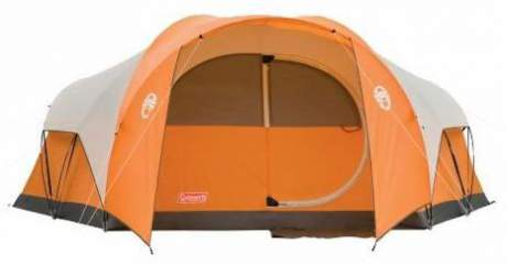 Coleman Bayside 8-person tent.  sc 1 st  Family C&ing Tents & 12 Hinged Door Camping Tents For Family Camping | Family Camp Tents