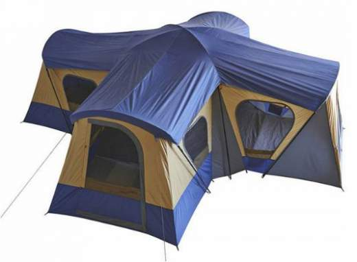 Ozark Trail Base C& 14-Person Cabin Tent.  sc 1 st  Family C&ing Tents : largest instant tent - memphite.com