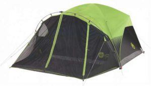 Coleman Carlsbad Fast Pitch 6-Person Dome Tent with Screen Room.