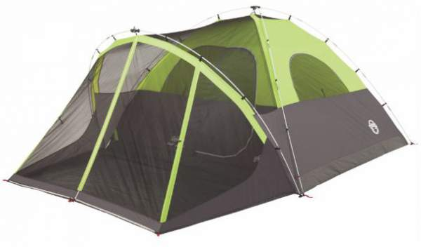 Here is the tent shown without fly so you can see the poles structure and the inner tent.