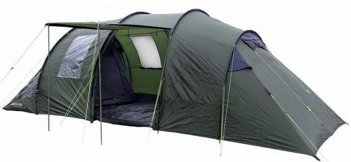 Eurohike Buckingham 6 classic family tent.  sc 1 st  Family C&ing Tents & Eurohike Buckingham 6 Man Tent Review - Classic Series 4 Rooms ...