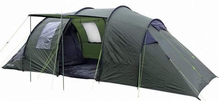 Eurohike Buckingham 6 classic family tent.